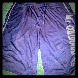 Colorado Buffs Mens Athletic shorts new w tags